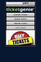 Screenshot of Buy Tickets