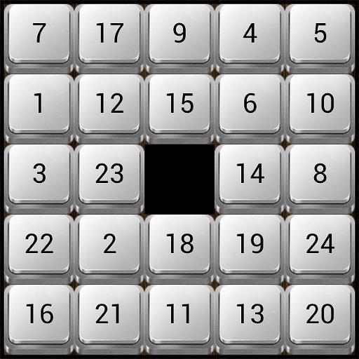 Nostalgic Sliding Puzzle Game