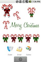 Screenshot of Candy Cane Sticker Pack