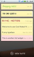 Screenshot of Cool Note Notepad & Emoji Font
