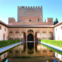 Alhambra of Granada icon