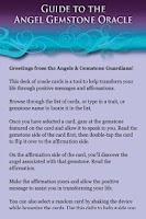 Screenshot of Angel Gemstone Oracle Cards