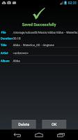 Screenshot of ZeoRing  - Ringtone Editor