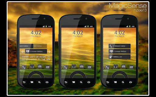 MagicSense - MagicLockerTheme