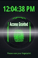 Screenshot of Fingerprint Scanner FREE