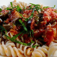 Crock Pot Pasta With Eggplant Sauce