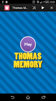 Screenshot of Thomas Toy Memory for Friends