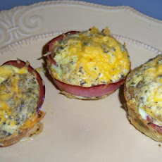 South Beach Diet Bacon Egg Muffins