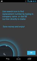 Screenshot of 0870 0844 0800 Free Call