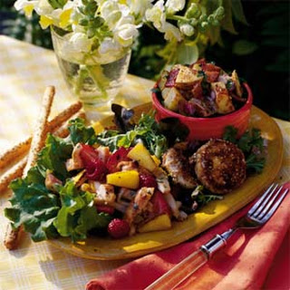Chicken-and-Fruit Salad