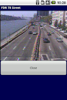 Screenshot of TrafficBuster NYC Traffic Cams