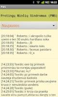 Screenshot of Protingų Minčių Sindromas PMS