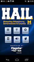 Screenshot of HAIL Michigan Athletics