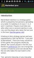 Screenshot of Marienbad plus