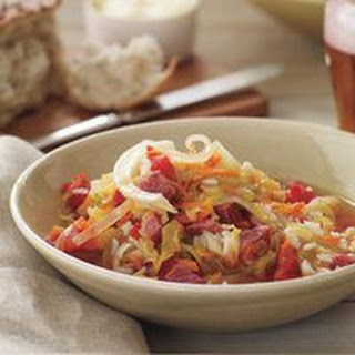 St. Patty's Corned Beef and Cabbage Soup