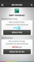 Screenshot of Mon Portefeuille BNP Paribas
