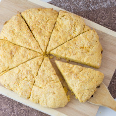 Honey Citrus Sweet Potato Scones