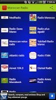 Screenshot of Moroccan Radio