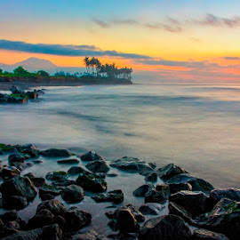 Sunrise Colour by Yande Ardana - Landscapes Sunsets & Sunrises ( bali, beach, sunrise )