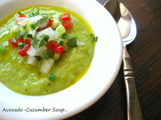 Cold Avocado-Cucumber Soup... Gordon Ramsay. Recipe | Yummly