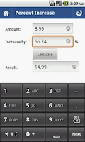 Screenshot of Percent Calculator - Full