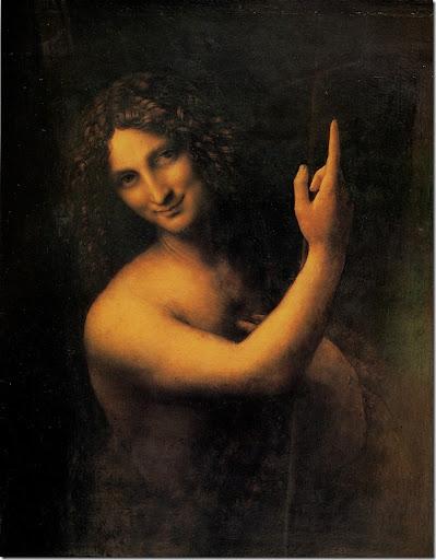 Leonardo di ser Piero DA VINCI - Saint Jean-Baptiste