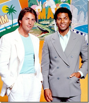 MIAMI VICE -- Sleuth Series -- Pictured: (l-r) Don Johnson as Det. John