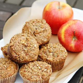 Healthy Protein Apple Cinnamon Muffins