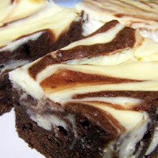 Cream Cheese Marbled Chocolate Brownie