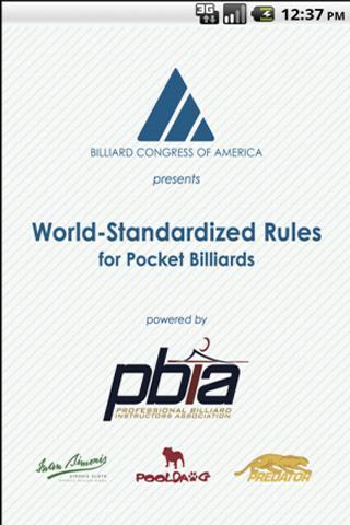 Official Billiard Rules Lite
