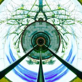 Peace! by Bong Perez - Digital Art Abstract