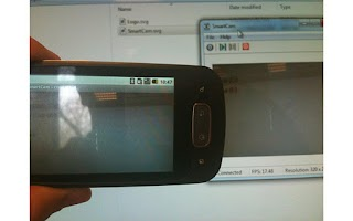 Screenshot of SmartCam webcam