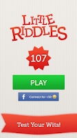 Screenshot of Little Riddles - Word Game