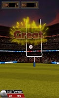 Screenshot of 3D Flick Field Goal