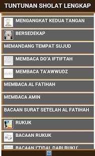 Buku Tuntunan Shalat Lengkap- screenshot thumbnail