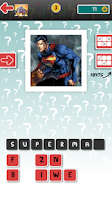 Screenshot of Guess The Character  SuperHero