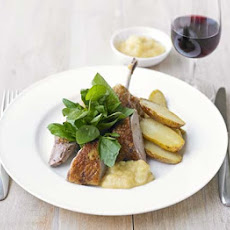 Spiced Slow-roast Duck & Apple Sauce