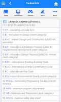 Screenshot of LEED Flashcards