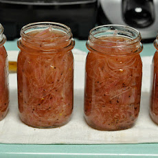 Sweet and Sour Pickled Red Onions