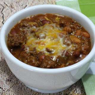Beef and Bean Casserole with Cheese