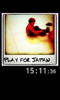 Screenshot of Instaqlock # prayforjapan