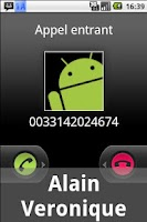 Screenshot of Anteid Donate Caller ID