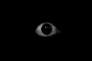 Screenshot of Moving Eyes
