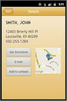 Screenshot of HelloOperator White Pages