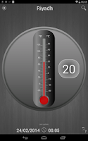 Screenshot of Forecast Thermometer