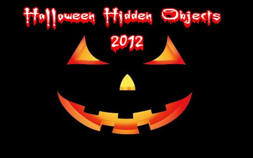 2012 Halloween Hidden Objects