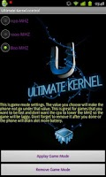 Screenshot of Ultimate Kernel Control
