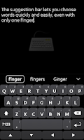 Screenshot of Ultra Keyboard Demo