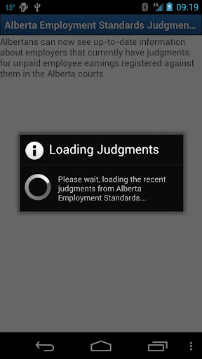 Alberta Employment Judgments
