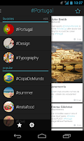 Screenshot of Hasher: Hashtag Aggregator